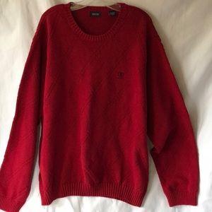 IZOD Red Men's Sweater Sz XXL